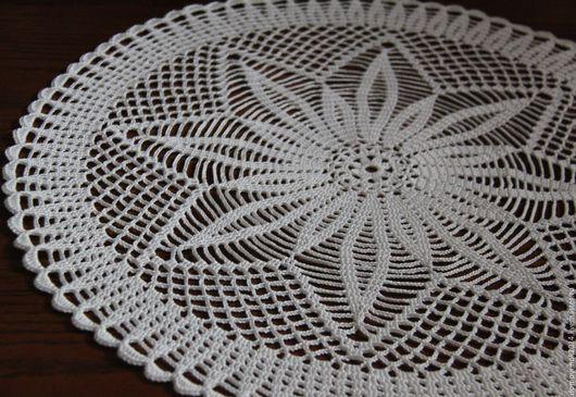 Текстиль, ковры ручной работы. Ярмарка Мастеров - ручная работа. Купить Салфетка Подсолнух (мини скатерть). Handmade. Бежевый, столовая