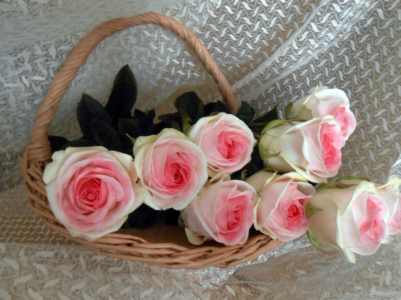 Розы из фоамирана, Букеты, Донецк,  Фото №1