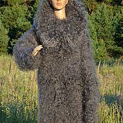 Одежда handmade. Livemaster - original item Jumpsuit downy knitted warm 100% goat down. Handmade.