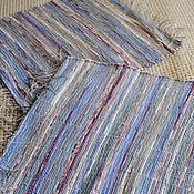 Для дома и интерьера ручной работы. Ярмарка Мастеров - ручная работа Половик ручного ткачества (№ 95). Handmade.