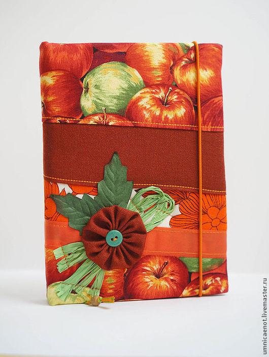 Блокноты ручной работы. Ярмарка Мастеров - ручная работа. Купить Блокнот в стиле БОХО (оранжевый).. Handmade. Оранжевый