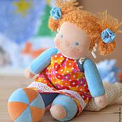 Куклы и игрушки ручной работы. Ярмарка Мастеров - ручная работа Вальдорфская кукла Солнышко. Handmade.