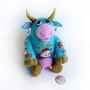 Куклы и игрушки ручной работы. Ярмарка Мастеров - ручная работа Войлочная фигурка — Морская корова. Handmade.