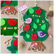 Куклы и игрушки handmade. Livemaster - original item Razvivashki