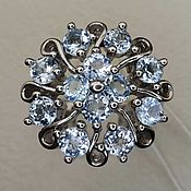 Украшения handmade. Livemaster - original item Silver ring with Topaz. Handmade.
