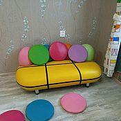 Диваны ручной работы. Ярмарка Мастеров - ручная работа Детский диванчик. Handmade.