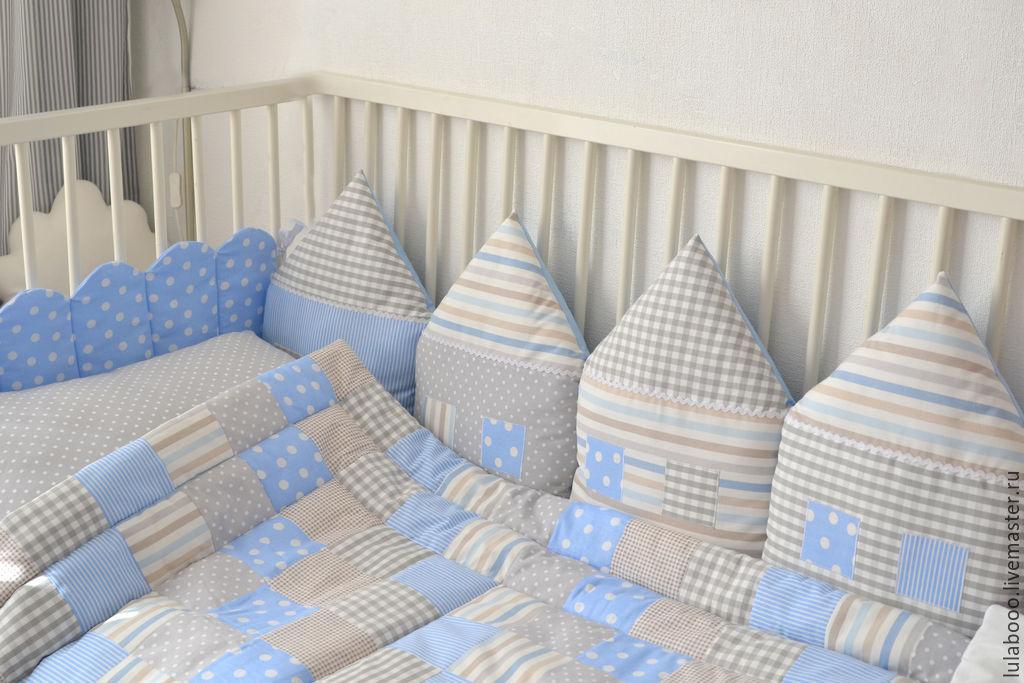 Бордюры для детской кроватки своими руками фото 732