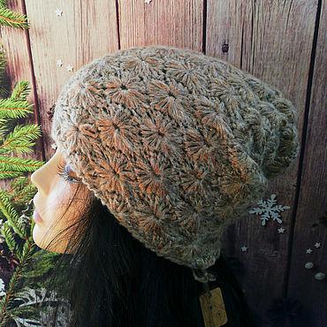 Аксессуары ручной работы. Ярмарка Мастеров - ручная работа Шапка вязаная, шапка бини, шапка чулок. Handmade.