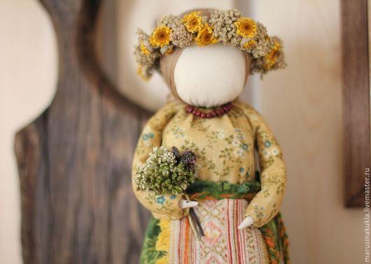"""Народные куклы ручной работы. Ярмарка Мастеров - ручная работа. Купить Кукла """"Одолень трава"""". Handmade. Оберег, традиционная кукла"""