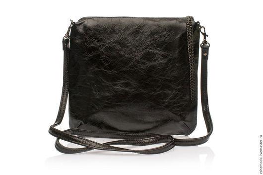 Женские сумки ручной работы. Ярмарка Мастеров - ручная работа. Купить Сумка Casual Black. Handmade. Черный, сумка из кожи
