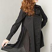 Платья ручной работы. Ярмарка Мастеров - ручная работа Платье-рубашка Мурашки по коже. Handmade.