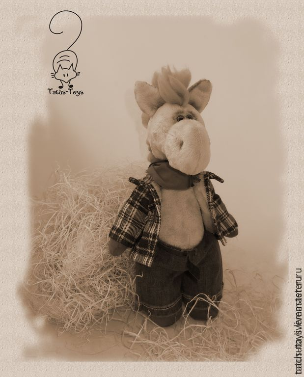 Cowboy the Pony, Stuffed Toys, Moscow,  Фото №1