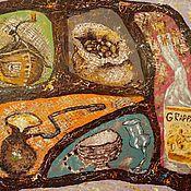 Картины и панно ручной работы. Ярмарка Мастеров - ручная работа Картина. Сaffe corretto. Масло, холст на подрамнике, мастихин, 50х40. Handmade.