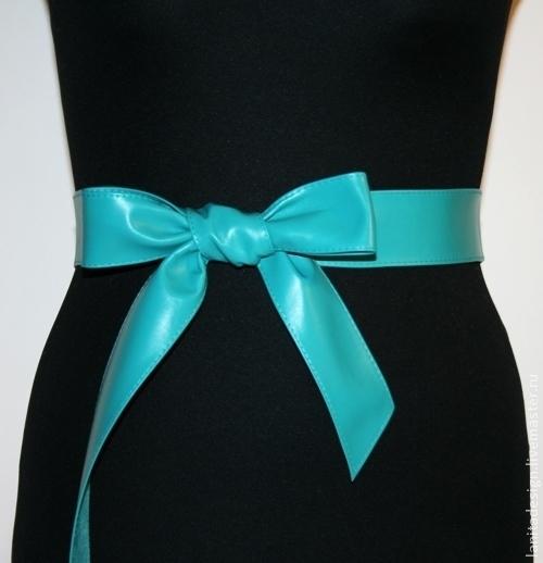 """Пояса, ремни ручной работы. Кожаный пояс """"Mini Бирюза"""". Lanita Design. Ярмарка Мастеров."""