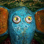 """Для дома и интерьера ручной работы. Ярмарка Мастеров - ручная работа Панно - вешалка """"На качелях"""".. Handmade."""