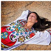 """Платья ручной работы. Ярмарка Мастеров - ручная работа Платье """"Цветник"""". Handmade."""