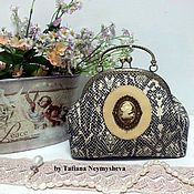 Сумки и аксессуары handmade. Livemaster - original item Handbag with clasp. Handmade.