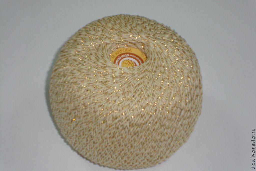 Вязание золотыми нитками 1