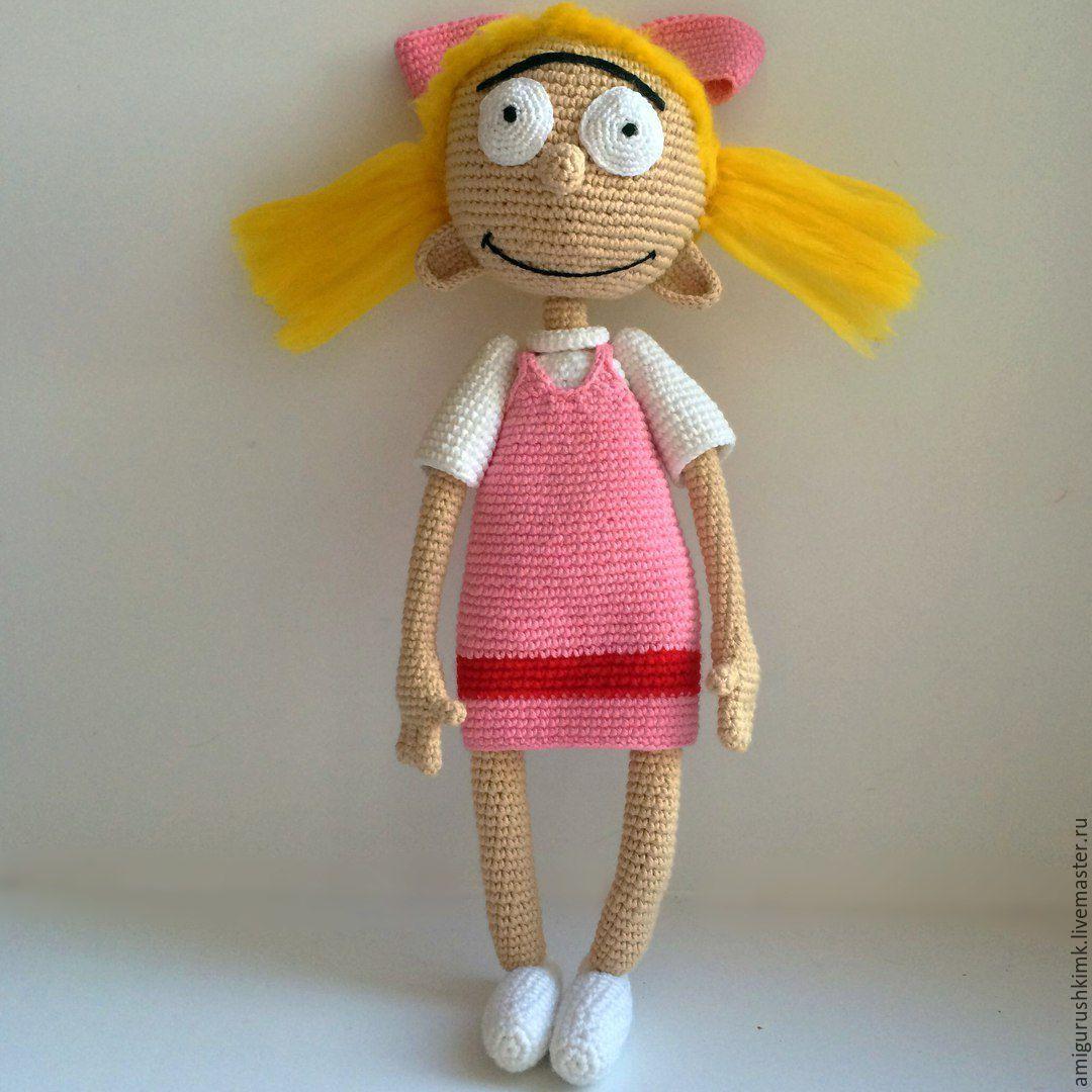 куклы вязанные крючком схемы