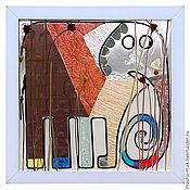 Картины и панно ручной работы. Ярмарка Мастеров - ручная работа Слон малюсенький. Handmade.