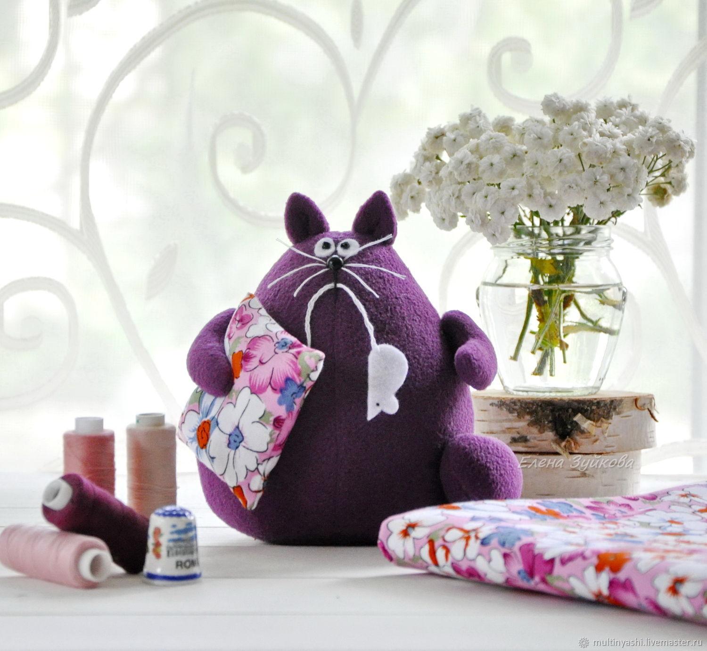 Фиолетовый Кот, которому всё фиолетово, Игрушки, Кострома,  Фото №1