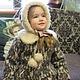 "Order Зимнее пальто "" Герда"". 'Nezhnyj vozrast'. Livemaster. . Childrens outerwears Фото №3"