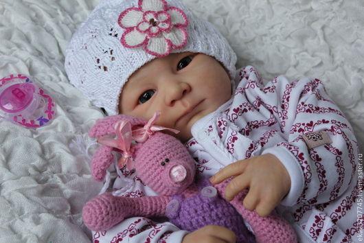 Куклы-младенцы и reborn ручной работы. Ярмарка Мастеров - ручная работа. Купить Малышка  Есения (молд Хави). Handmade. Бежевый