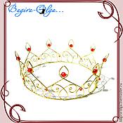 """Свадебный салон ручной работы. Ярмарка Мастеров - ручная работа корона """"Король"""". Handmade."""