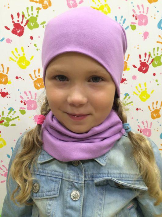 """Шапки и шарфы ручной работы. Ярмарка Мастеров - ручная работа. Купить Шапка и снуд """"Лилу"""". Handmade. Шапка, шапка для девочки"""