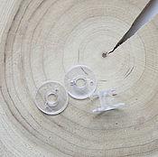 Материалы для творчества ручной работы. Ярмарка Мастеров - ручная работа Шпулька пластиковая. Handmade.