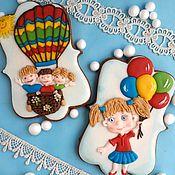 Сувениры и подарки handmade. Livemaster - original item Gingerbread graduate kindergarten. gingerbread birthday. Handmade.