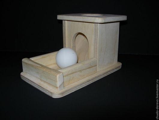 """Развивающие игрушки ручной работы. Ярмарка Мастеров - ручная работа. Купить Модуль Монтессори """"Волшебный ящик"""". Handmade. Бежевый"""