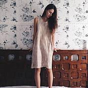 """Одежда ручной работы. Ярмарка Мастеров - ручная работа Валяное платье """"Нежное золото"""". Handmade."""