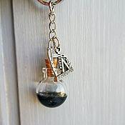"""Аксессуары ручной работы. Ярмарка Мастеров - ручная работа """"Любимому нефтянику"""" брелок на ключи. Handmade."""