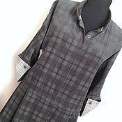 Копия работы платье-рубашка из вельвета