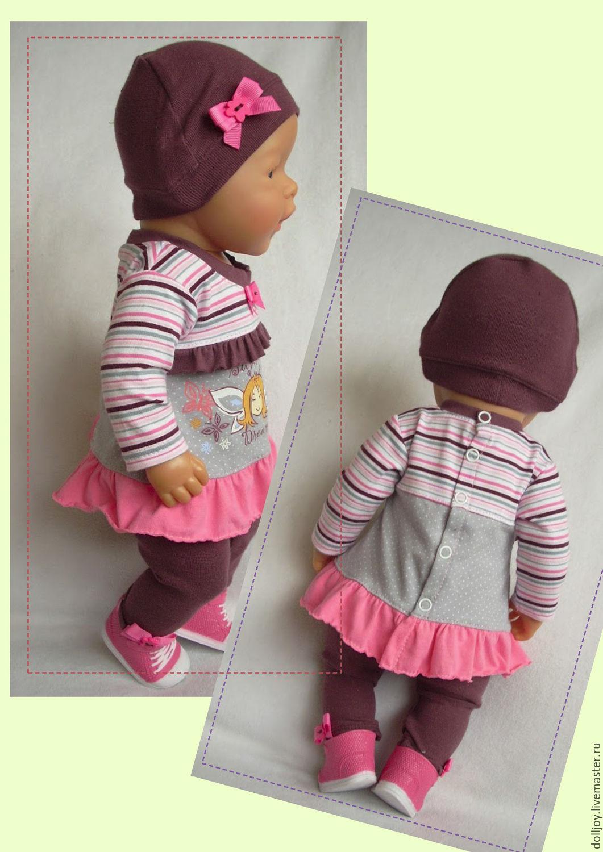 Выкройки для куклы беби бон своими руками выкройки