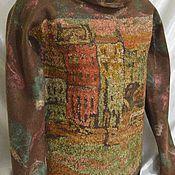 Одежда ручной работы. Ярмарка Мастеров - ручная работа Свитер валяный. Handmade.