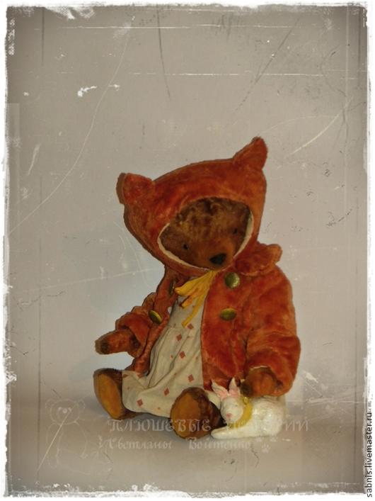 Мишки Тедди ручной работы. Ярмарка Мастеров - ручная работа. Купить Лисичка. Handmade. Коричневый, Плюшевый мишка