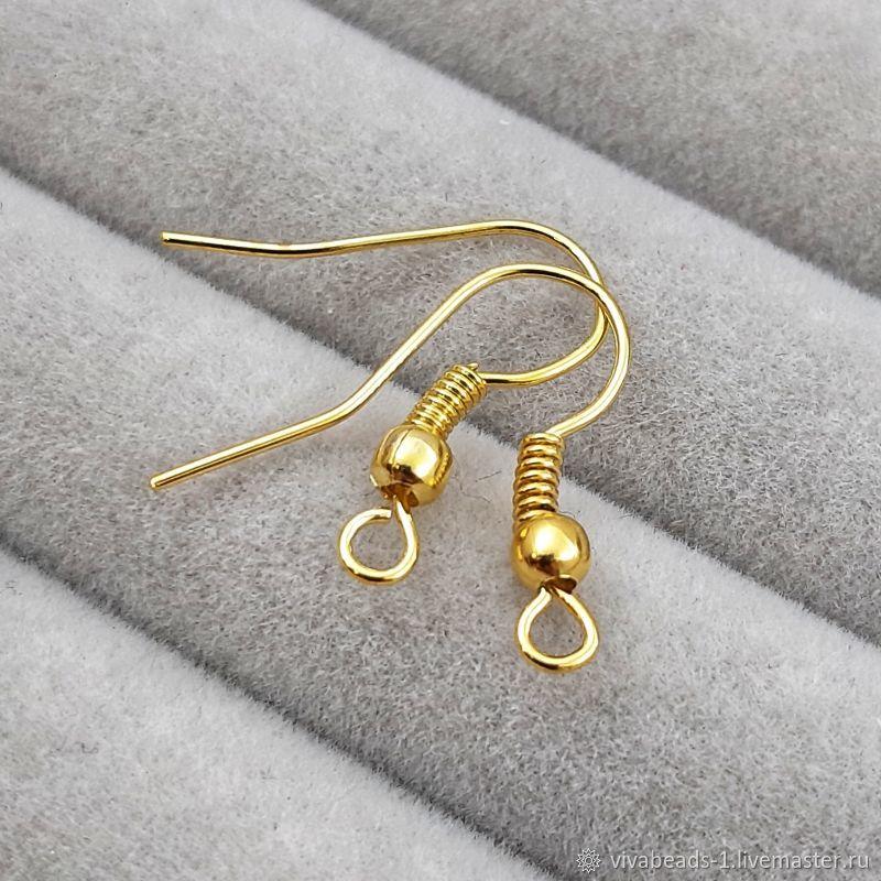 Shvenzy hooks 18 mm under gold (172-Z), Schwenzy, Voronezh,  Фото №1