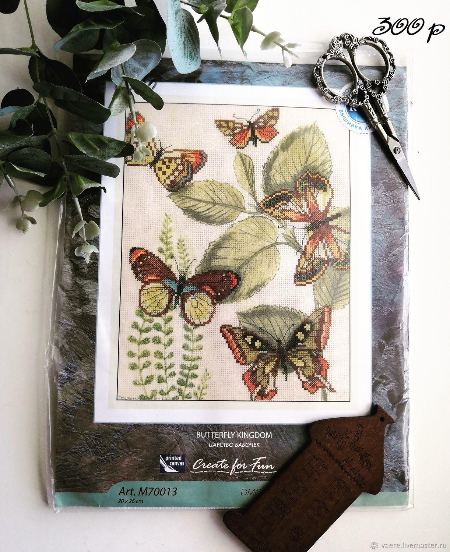 """Набор для вышивания РТО """"Царство бабочек"""" RTO M70013, Схемы для вышивки, Тула,  Фото №1"""