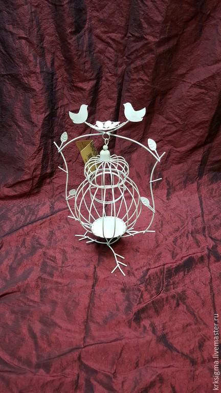 Свадебные аксессуары ручной работы. Ярмарка Мастеров - ручная работа. Купить Декоративная клетка. Handmade. Белый, клетка для птиц, свадьба