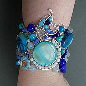 Украшения handmade. Livemaster - original item bracelet Summer sky. Handmade.