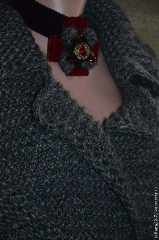 """Верхняя одежда ручной работы. Ярмарка Мастеров - ручная работа. Купить """"Foggy Albion""""эксклюзивный кардиган ручной работы. Handmade. пальто"""