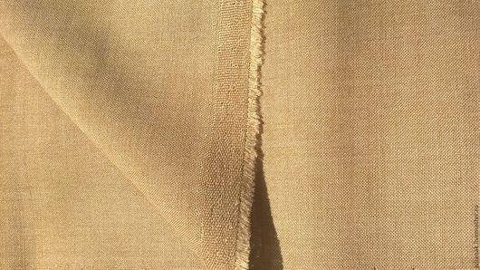 Шитье ручной работы. Ярмарка Мастеров - ручная работа. Купить Костюмная ткань из шерсти ОСТАТОК. Handmade. Светло-коричневый