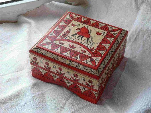 Шкатулки ручной работы. Ярмарка Мастеров - ручная работа. Купить шкатулка для украшений-2. Handmade. Роспись, шкатулка, деревянный сувенир