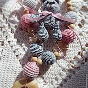 Слингобусы ручной работы. Ярмарка Мастеров - ручная работа Слингобусы можжевеловые с игрушкой. Handmade.