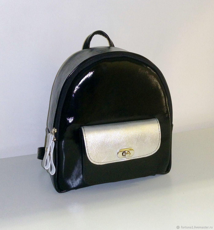Backpack leather 301, Backpacks, St. Petersburg,  Фото №1