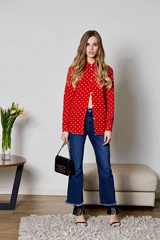 Женская одежда в горошек купить