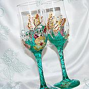 Посуда handmade. Livemaster - original item Glasses: