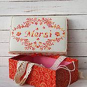Для дома и интерьера handmade. Livemaster - original item box mersi. Handmade.